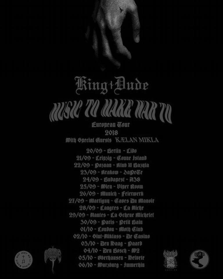 King Dude – Kælan Mikla - The Dark Red Seed