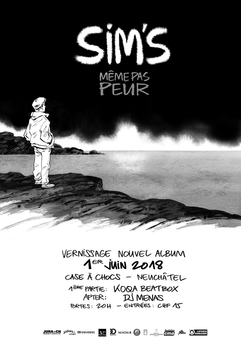 Sim's - Vernissage du nouvel album