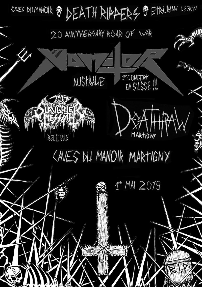 Vomitor - Slaughter Messiah - DeathRaw