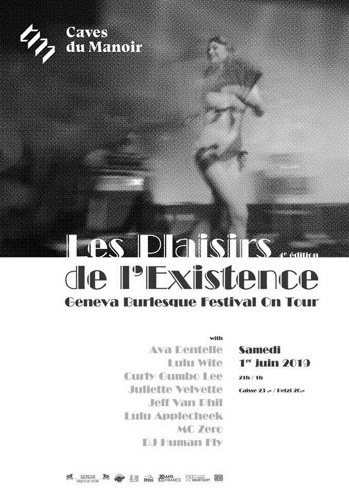 Les Plaisirs de l'Existence : Geneva Burlesque Festival On Tour