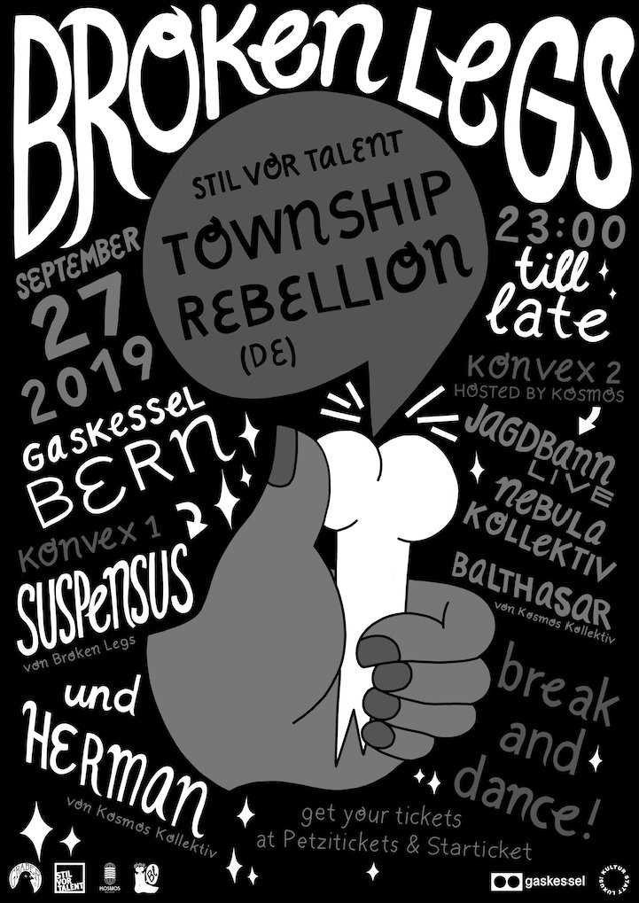 Broken Legs w/ Town Ship Rebellion (DE)