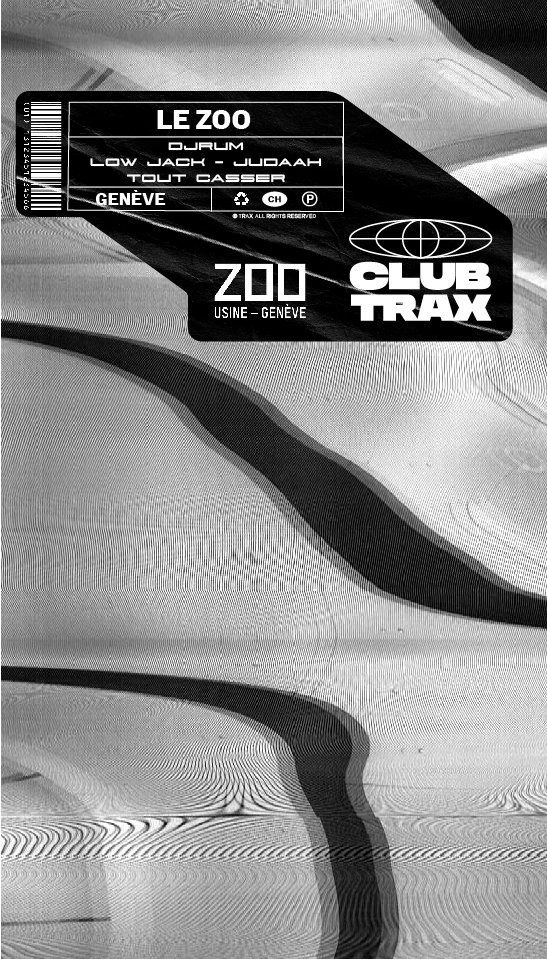 Club Trax x Le Zoo présentent : Djrum, Judaah & Low Jack