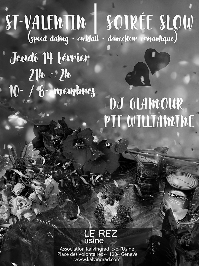 St-Valentin | Soiree Slow!