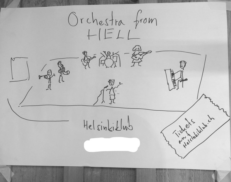 Orchestra From Hell –– welcome back
