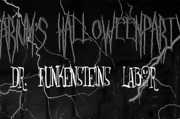Varium's Halloweenparty - Dr. Funkensteins Labor
