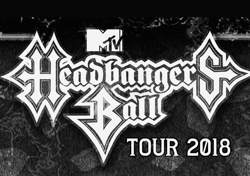 MTV HEADBANGERS BALL TOUR / EXODUS + SODOM + DEATH ANGEL + SUICIDAL ANGELS