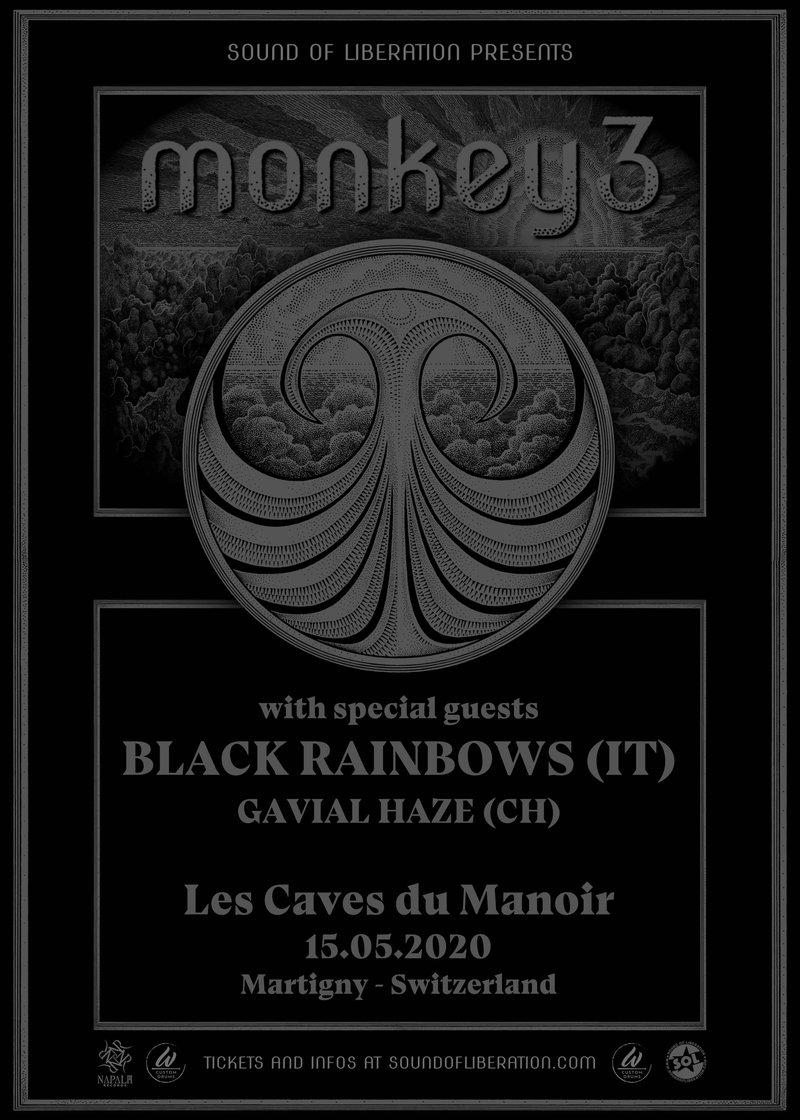 Les Caves Du Manoir monkey3 – black rainbows – gavial haze / 15.05.2020 / caves