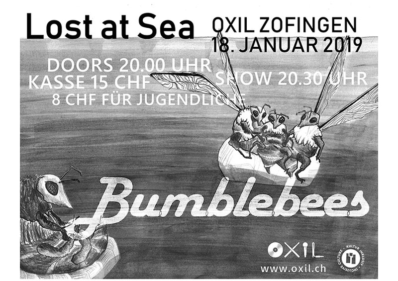 Lost a Sea & Bumblebees