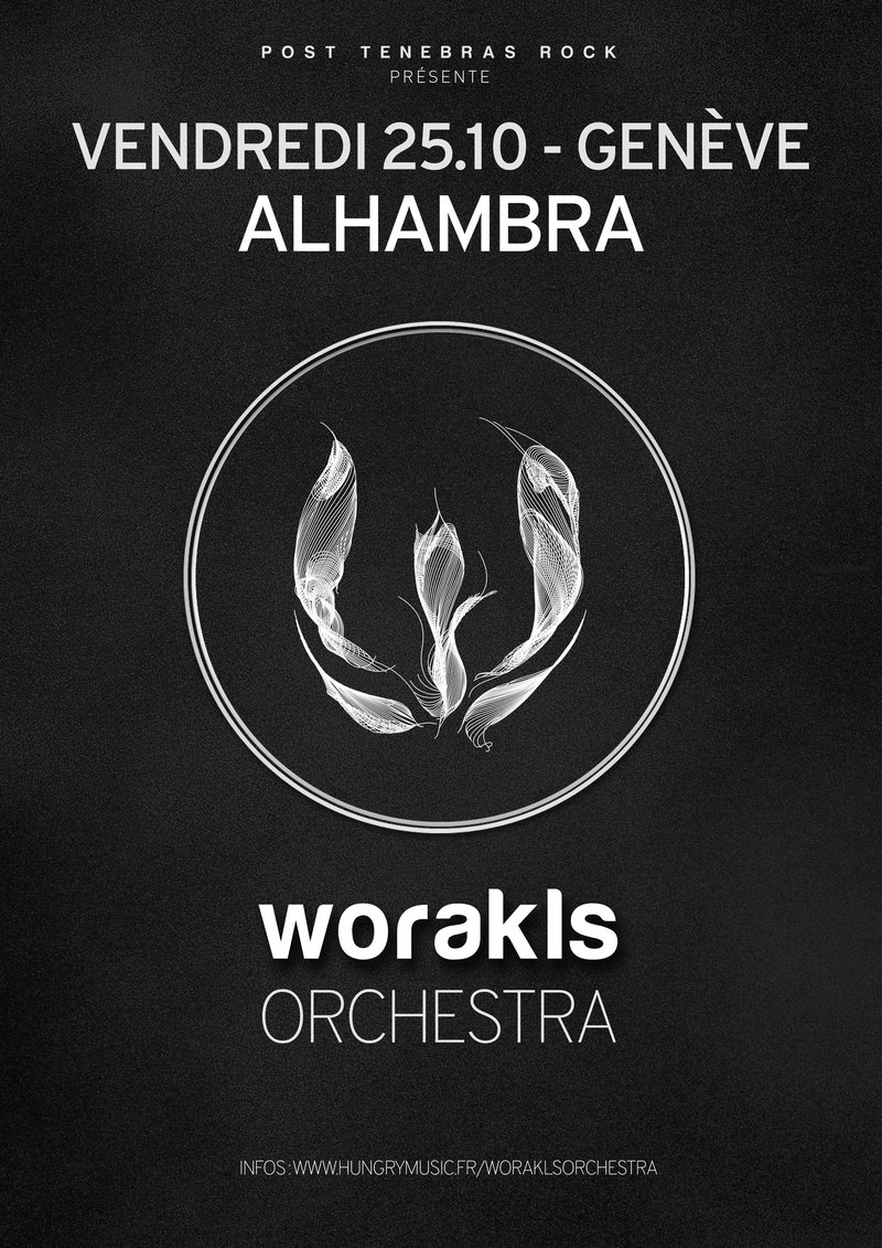 Worakls Orchestra (Hungry Music - FR) @ Alhambra // Electronica meets Classical
