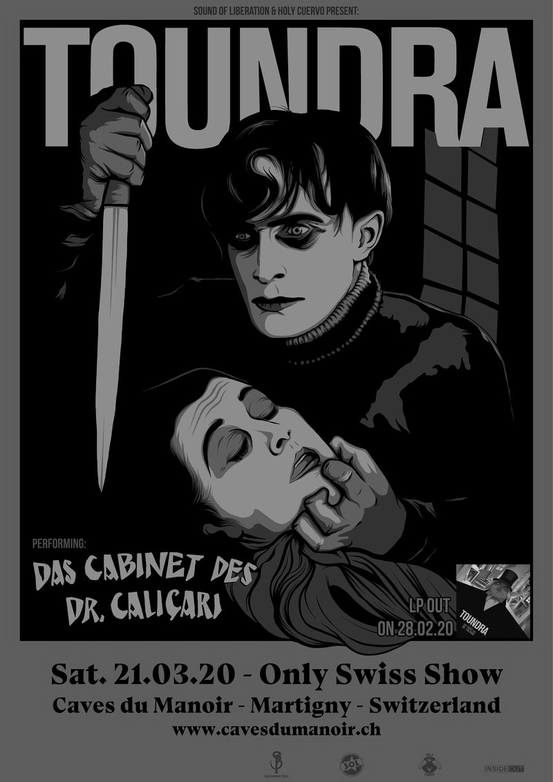 "Toundra plays ""Das Cabinet Des Dr. Caligari"" [Only Swiss Show]"