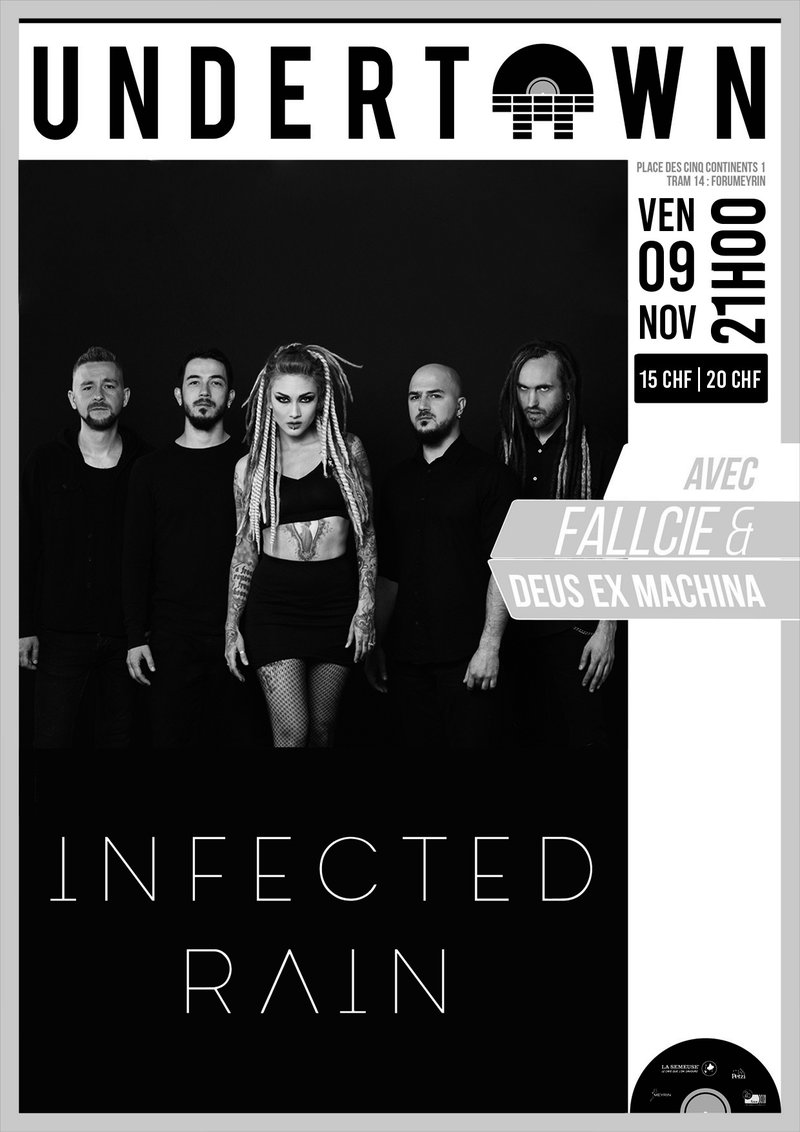 Infected Rain, Fallcie + guest / Undertown