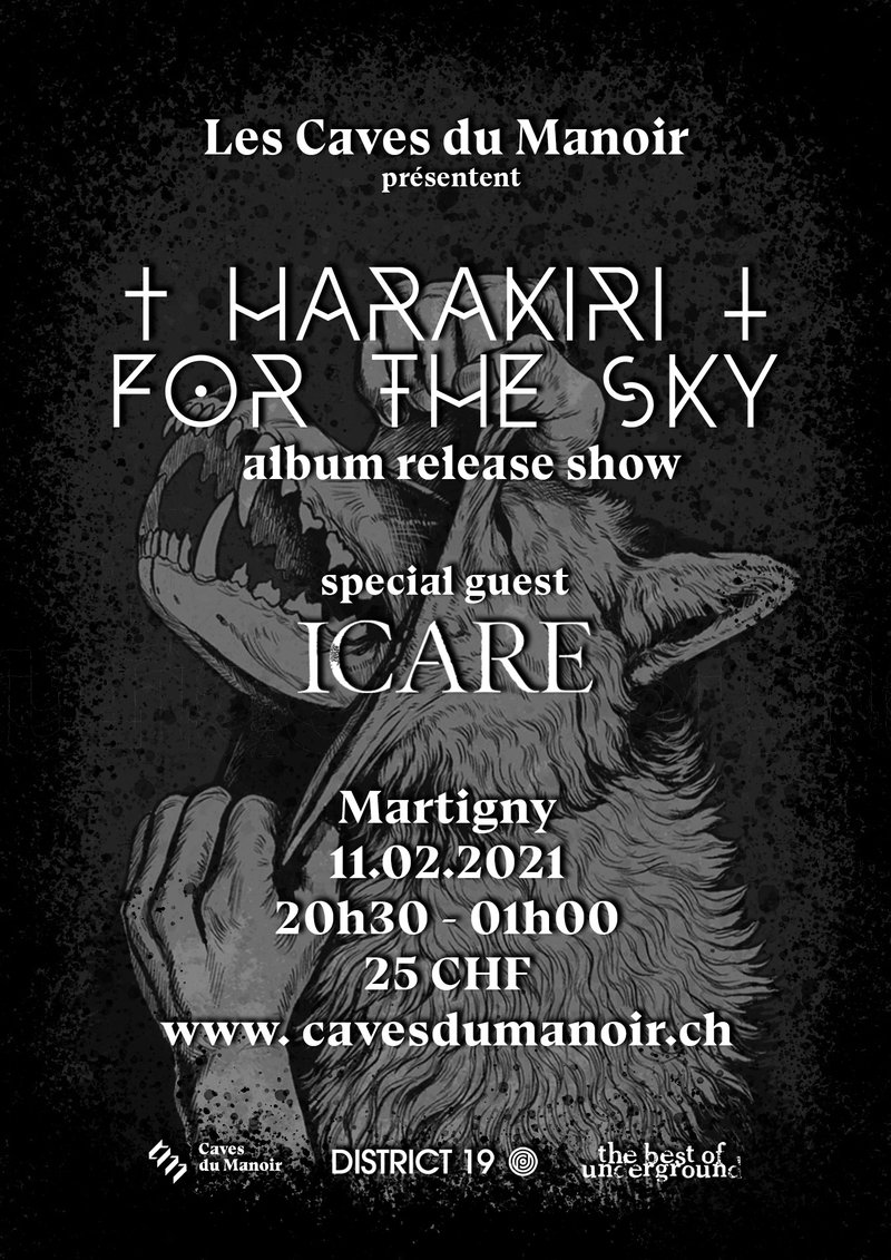 Harakiri For The Sky (album release show) – Icare