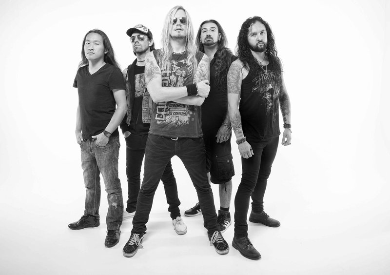 DRAGONFORCE (UK) + FROZEN CROWN (IT) + ATHANASIA (US)