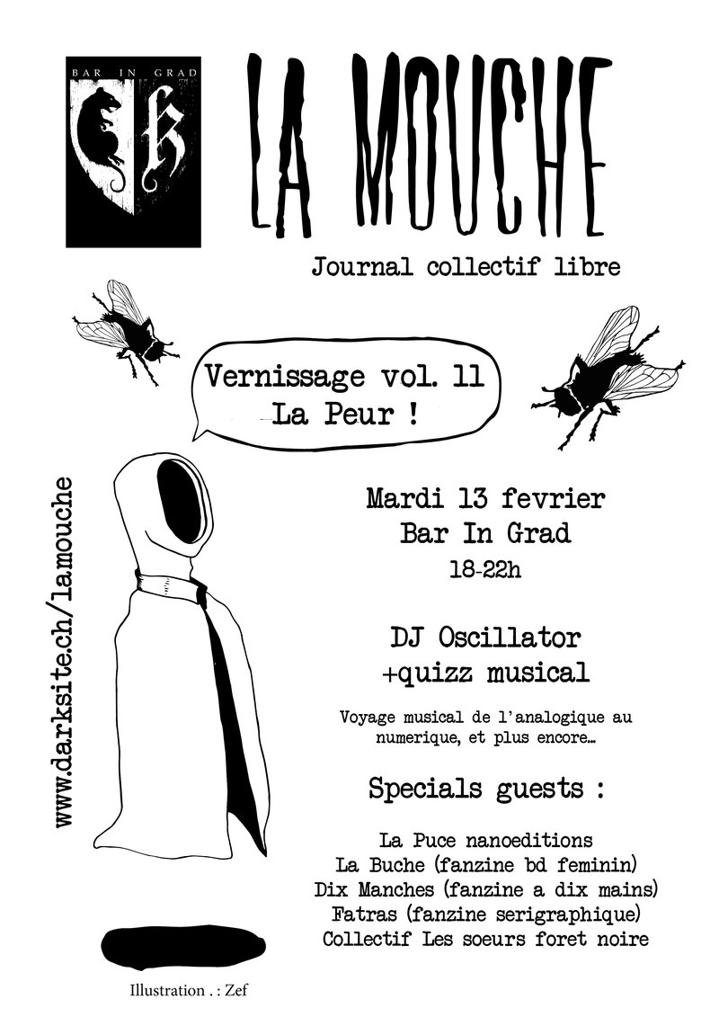 Bar In Grad – Vernissage La Mouche vol.11
