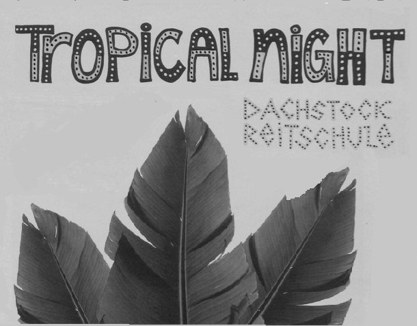 TROPICAL SILVESTERPARTY