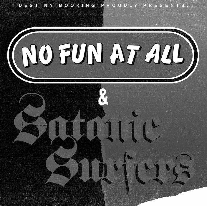 No Fun At All x Satanic Surfers x Belvedere | Genève - PTR
