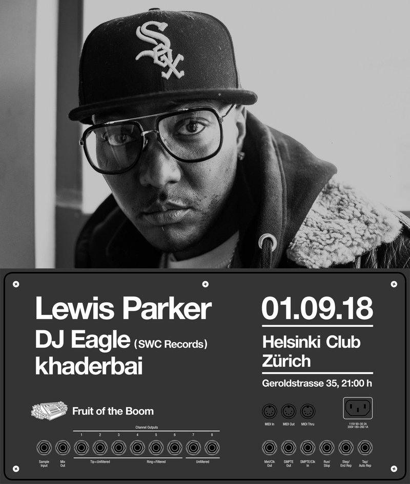 Lewis Parker, DJ Eagle, khaderbai (Fruit of the Boom)