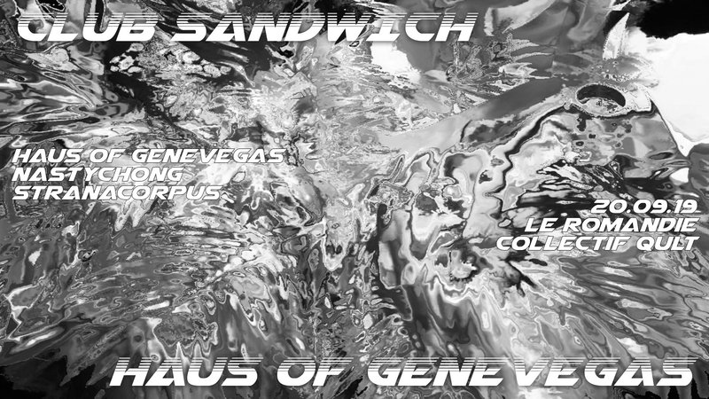 Club Sandwich Eats Haus of Genevegas
