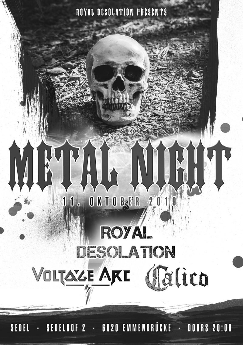 Royal Desolation presents Metal Night