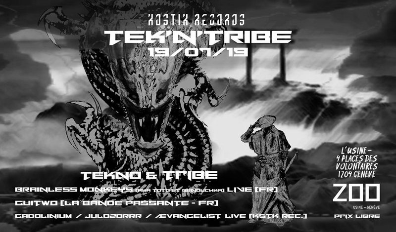 Kostik Records Showcase I Tribe / Tekno