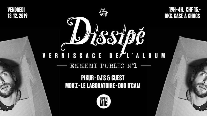 Dissipé /// vernissage