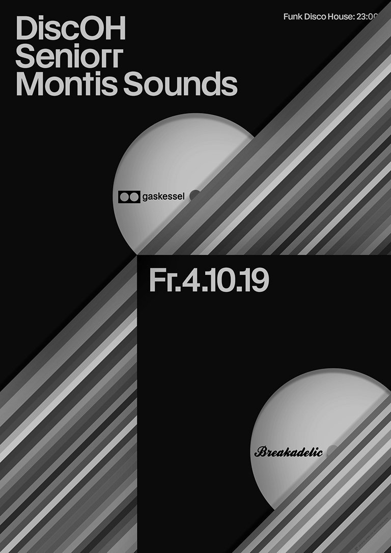 Breakadelic: DiscOH, Seniorr, Montis Sounds