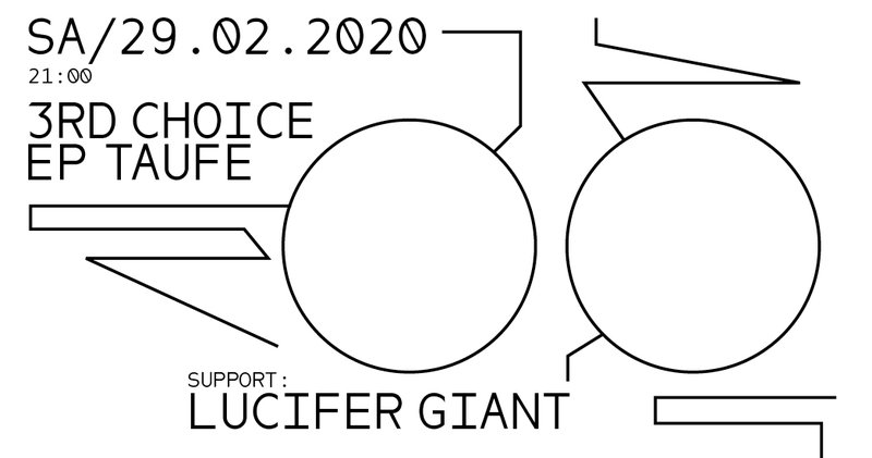 3rd Choice EP-Taufe I Support: Lucifer Giant I Gaskessel Bern