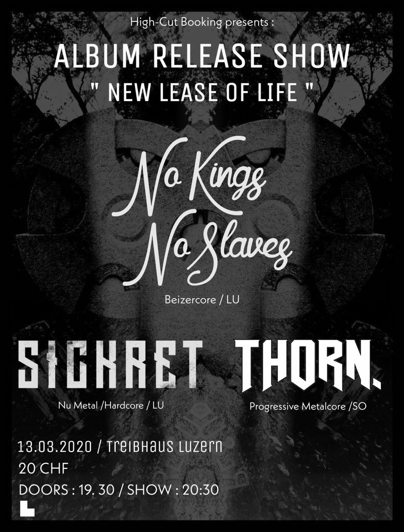 No Kings No Slaves - Plattentaufe