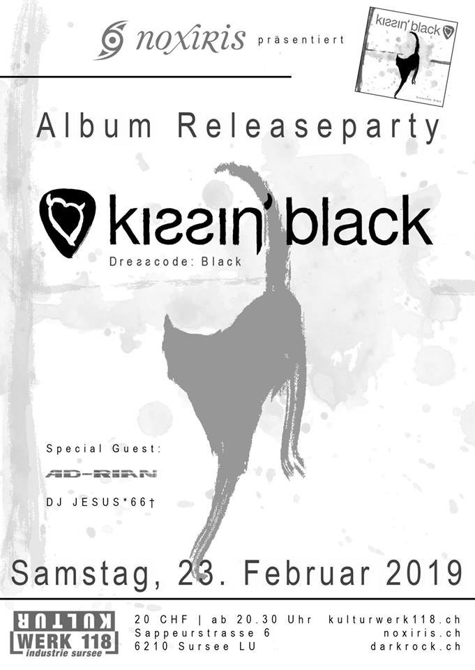 "Kissin' Black ""Dresscode: Black"" Release Party"