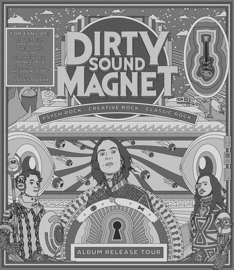 Dirty Sound Magnet / Mighty Bombs / Misty Bliss
