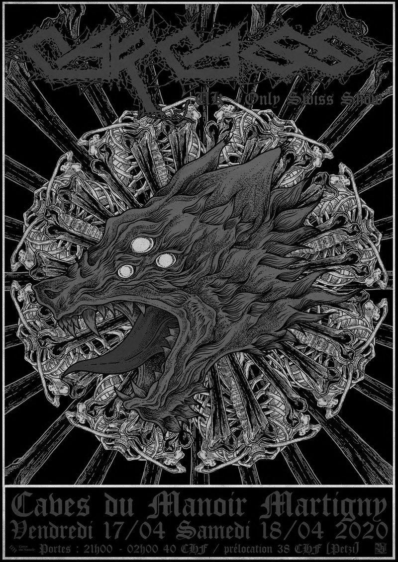 Les Caves Du Manoir carcass [uk - only swiss show] / 17.04-18.04.2020 / caves du