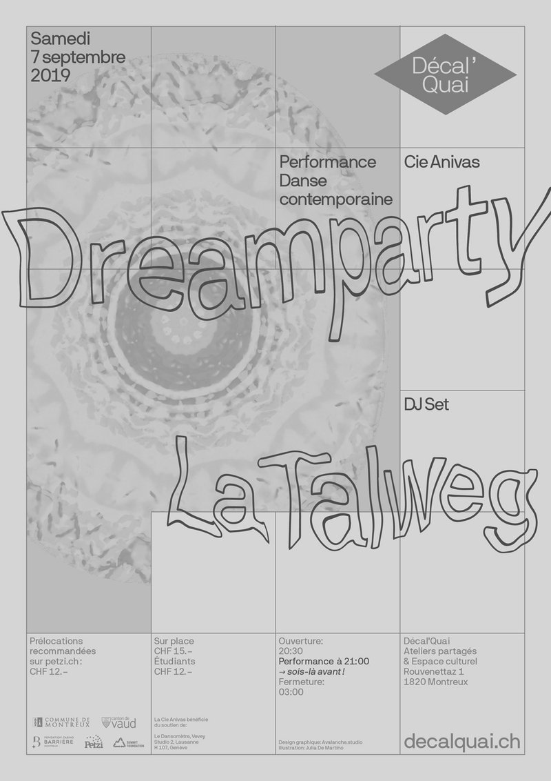 Dreamparty Cie Anivas + La Talweg (DJ set)