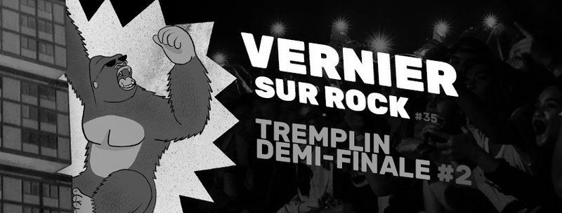 TREMPLIN VERNIER SUR ROCK