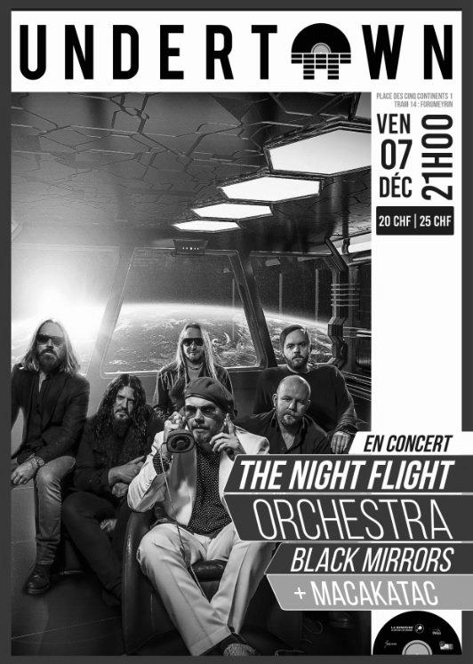 The Night Flight Orchestra, Black Mirrors + Guest