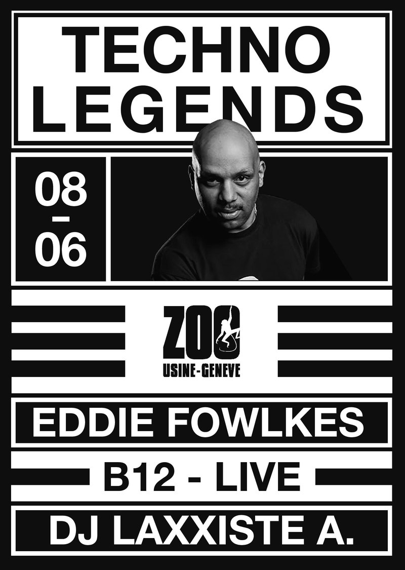TECHNO LEGEND w/ Eddie Fowlkes