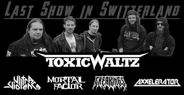 Metal Scar presents: Toxic Waltz – Last Show in Switzerland