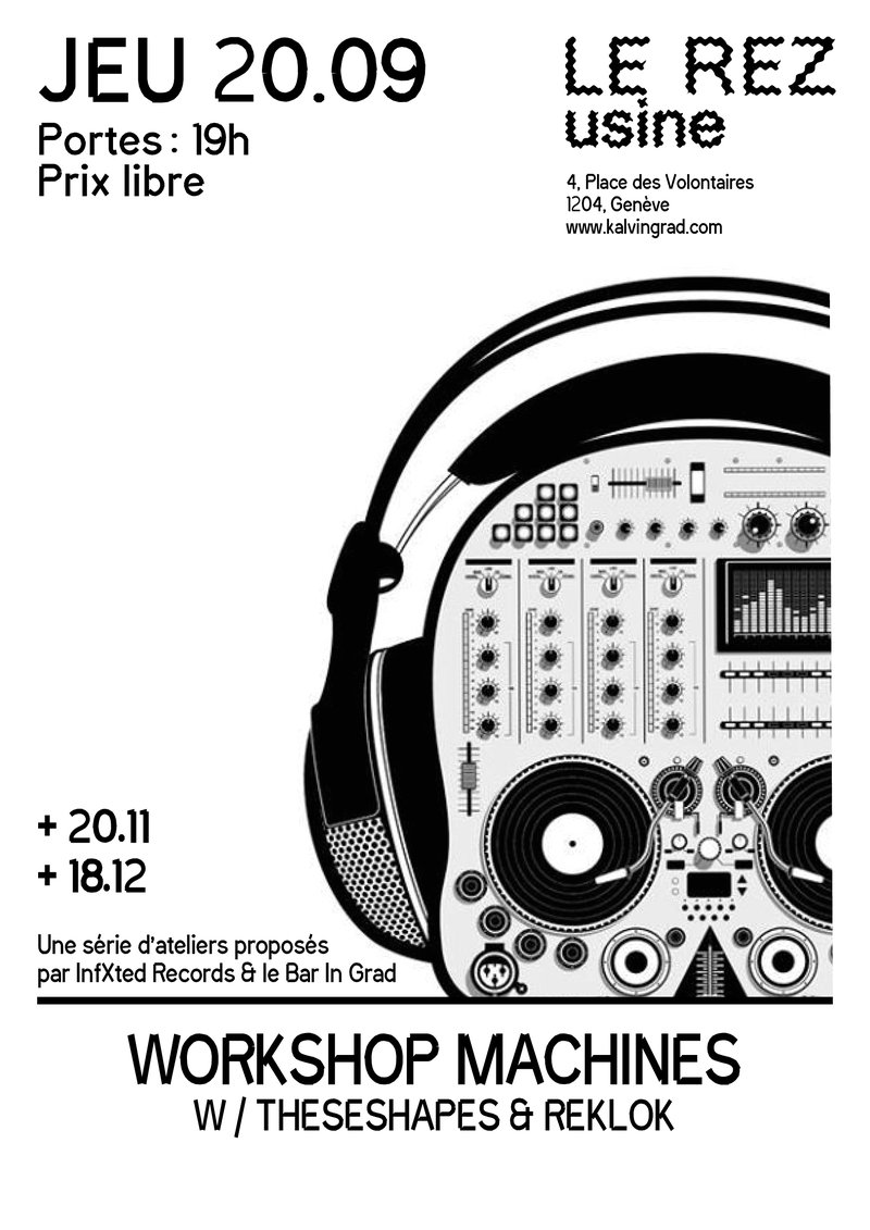 Workshop Machines ⅓ w/ TheseShapes